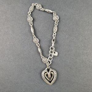 Brighton floating heart bracelet 8 in.